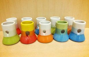 陶器製 給水器ホルダー